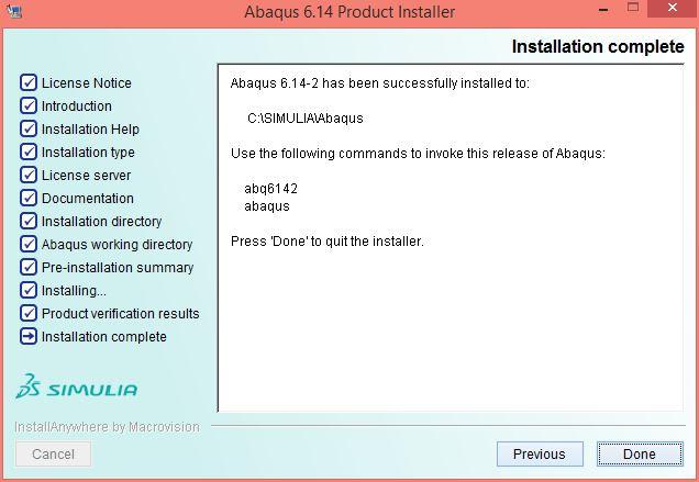 Abaqus 6 14 Installation Instructions
