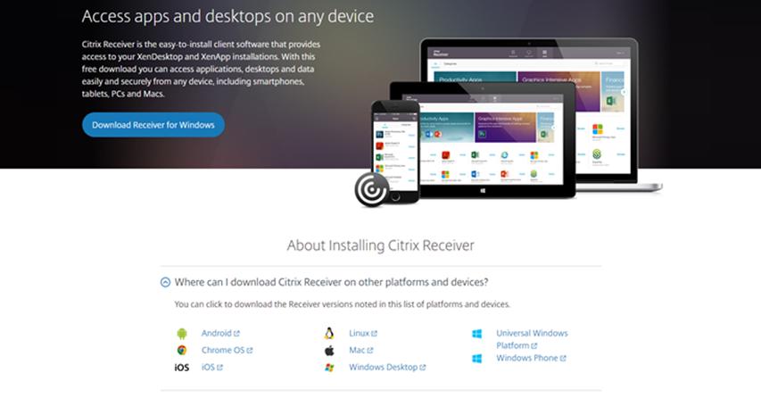 Free download citrix receiver 4