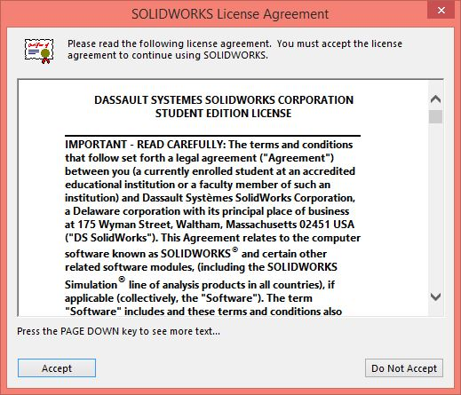 Solidworks 2015 2016 Installation Instructions